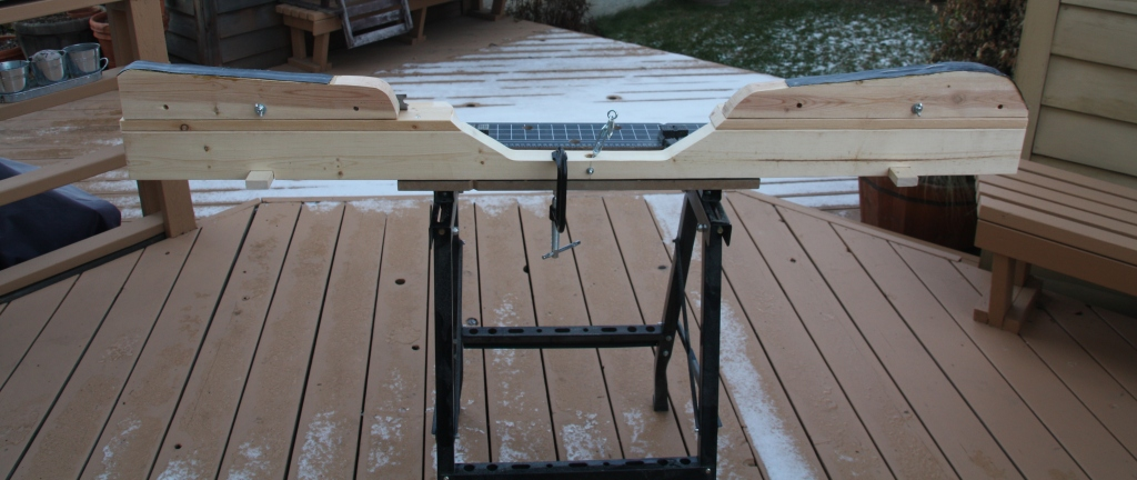 Ski Waxing Frames / Forms for Sale - Edmonton Nordic Ski Club
